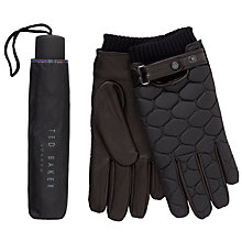 Buy Ted Baker Umbrella and Gloves Gift Set Online at johnlewis.com