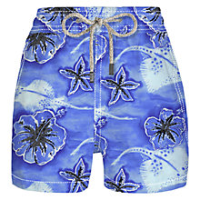 Buy Vilebrequin Moorea Boys' Floral and Stingray Swim Shorts Online at johnlewis.com