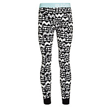 Buy Bjorn Borg Sketchbook Long Johns, Black Online at johnlewis.com