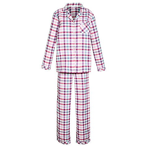 Buy John Lewis Mix Check Pyjama Set, Multi Online at johnlewis.com