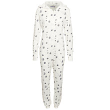Buy John Lewis Dandelion Onesie, Grey Online at johnlewis.com