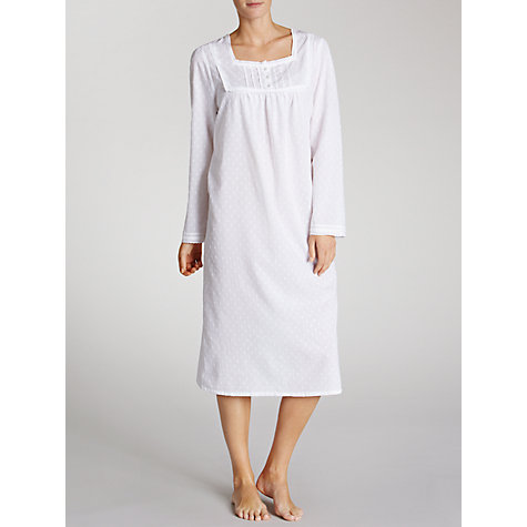 Buy John Lewis Nightdress, Ivory Online at johnlewis.com