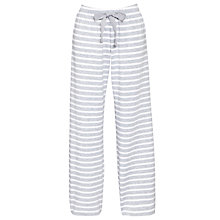Buy John Lewis Loop Back PJ Pants, Grey Marl Online at johnlewis.com