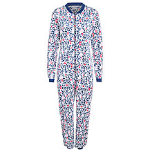 Buy John Lewis Animal Fleece Onesie, Multi Online at johnlewis.com