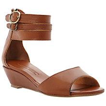 Buy Pied A Terre Ankle Cuff Wedged Sandals Online at johnlewis.com
