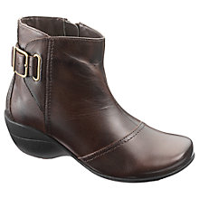 Buy Hush Puppies Kana Ankle Boots, Brown Online at johnlewis.com