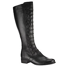 Buy Gabor Argyll Knee Boot, Black Online at johnlewis.com