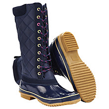 Buy Joules Woodhurst Wellington Boots, Navy Online at johnlewis.com