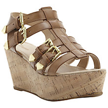 Buy Dune Grap Wedge Sandals Online at johnlewis.com