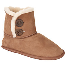 Buy John Lewis Peppa2 Boot Slippers, Camel Online at johnlewis.com