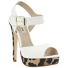 Buy Dune Hastings Platform Sandals, Multi Online at johnlewis.com