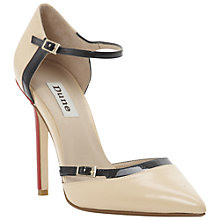 Buy Dune Carefree Court Shoes, Blonde Online at johnlewis.com