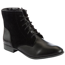 Buy Hush Puppies Fairland Ankle Boots, Black Online at johnlewis.com