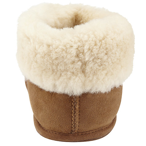 Buy John Lewis Pocahontas Slippers, Camel Online at johnlewis.com