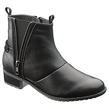 Buy Hush Puppies Chamber Ankle Boots, Black Online at johnlewis.com