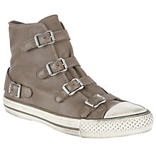 Buy Ash Virgin High-Top Trainers, Taupe Online at johnlewis.com