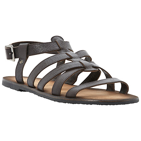 Buy Dune Icarus Leather Gladiator Sandals Online at johnlewis.com