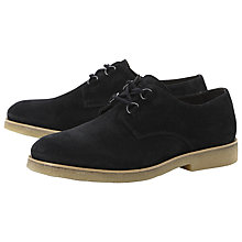 Buy Bertie Boss Suede Crepe Sole Creeper Shoes Online at johnlewis.com