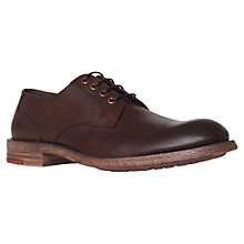 Buy KG by Kurt Geiger Morton Leather Derby Shoes Online at johnlewis.com