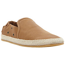 Buy Dune Falcon Leather Espadrilles Online at johnlewis.com