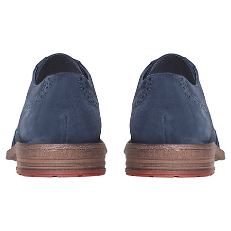 Buy KG by Kurt Geiger Luton Suede Brogue Shoes Online at johnlewis.com
