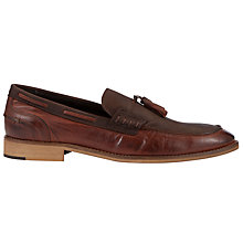 Buy Bertie Astoria Tassle Leather Loafers Online at johnlewis.com