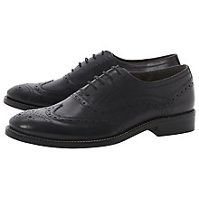 Buy Dune Animate Leather Brogue Oxford Shoes Online at johnlewis.com