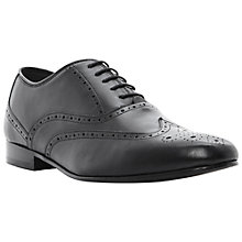 Buy Dune Activation Wingtip Leather Brogue Shoes Online at johnlewis.com