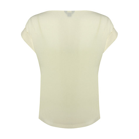 Buy NW3 by Hobbs Lawrence Top, Ivory Online at johnlewis.com