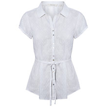 Buy White Stuff Annabel Top, White Online at johnlewis.com