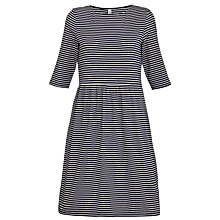 Buy People Tree Elsie Stripe Gather Dress Online at johnlewis.com