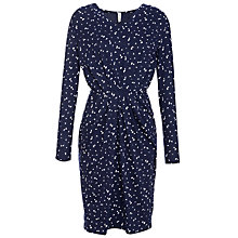 Buy People Tree Sandra Galaxy Dress, Navy Online at johnlewis.com