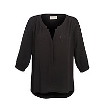 Buy Pyrus Blouse, Black Online at johnlewis.com