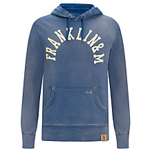 Buy Franklin & Marshall Hooded Sweatshirt, Georgia Sky Online at johnlewis.com