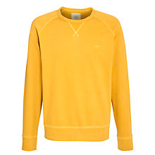 Buy Dockers Alpha Crew Neck Jumper, Teal Online at johnlewis.com