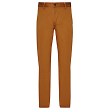 Buy Dockers Alpha Slim Fit Chinos, Guarana Spice Online at johnlewis.com