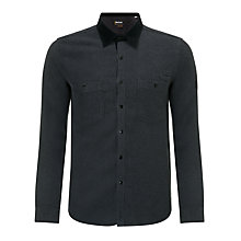 Buy Barbour International Condense Shirt, Charcoal Online at johnlewis.com