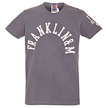 Buy Franklin & Marshall Sleeve Logo T-Shirt Online at johnlewis.com