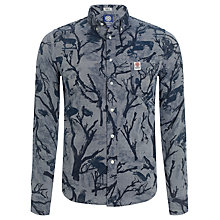 Buy Franklin & Marshall Denim Hunting Shirt, Blue Online at johnlewis.com