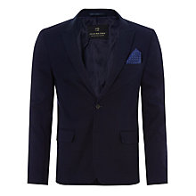 Buy Scotch & Soda Pique Blazer, Navy Online at johnlewis.com