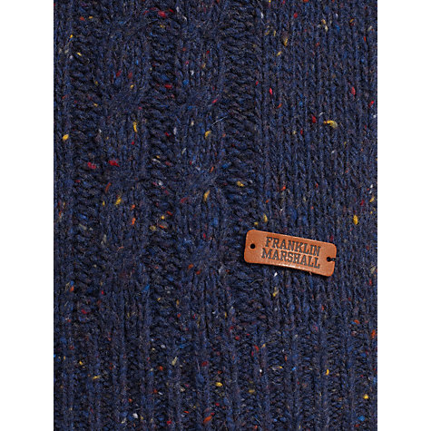 Buy Franklin & Marshall Flecked Wool Crew Neck Jumper Online at johnlewis.com