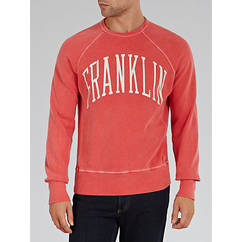 Buy Franklin & Marshall Arch Logo Franklin Jumper Online at johnlewis.com