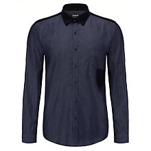 Buy Barbour International Deflector Shirt, Blue Online at johnlewis.com