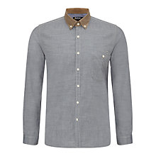 Buy Barbour International Burnout Cord Collar Shirt Online at johnlewis.com