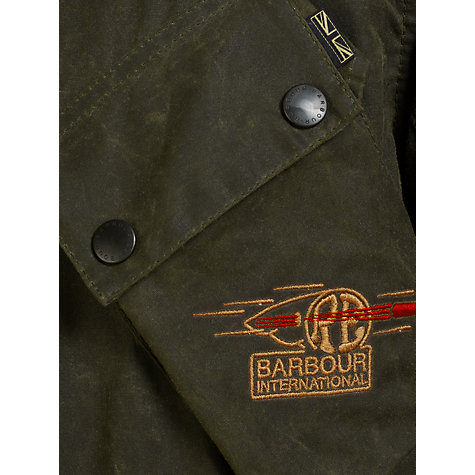 Buy Barbour International Northpass Waxed Jacket Online at johnlewis.com