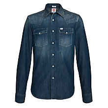 Buy Franklin & Marshall Denim Shirt, Light Wash Online at johnlewis.com