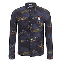 Buy Franklin & Marshall Denim Airfighter Shirt, Blue Online at johnlewis.com