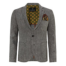 Buy Scotch & Soda Tweed Blazer, Grey Online at johnlewis.com