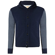 Buy Replay Contrast Sleeve Wool Rich Cardigan Online at johnlewis.com