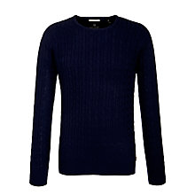 Buy Scotch & Soda Cashmere Blend Cable Jumper Online at johnlewis.com